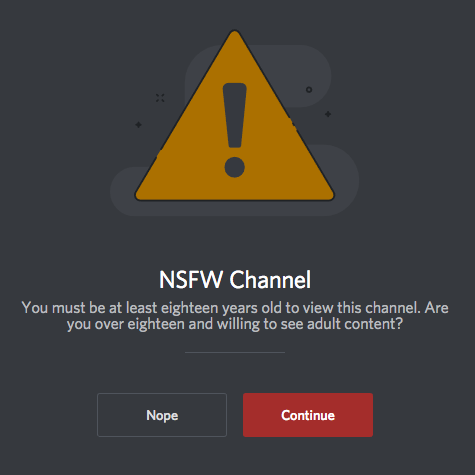 NSFW channels and content – Discord