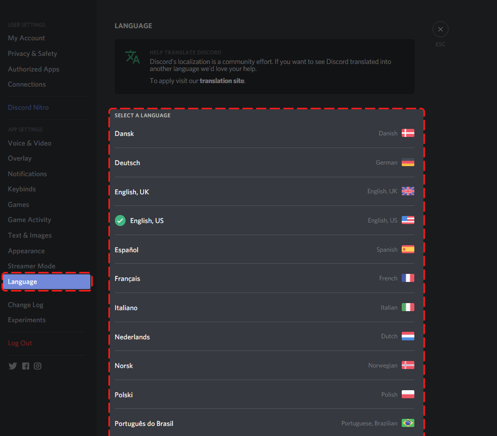 How can I change Discord's Language? – Discord