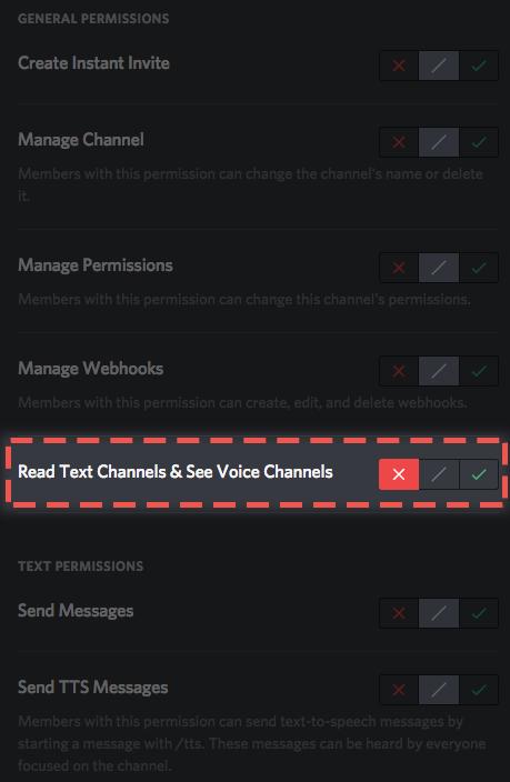 Como configurar permisses discord ao desativar a permisso ler canais de texto e ver canais de voz tornar os canais invisveis para os membros que no tm acesso e eles vo aparecer como ccuart Gallery