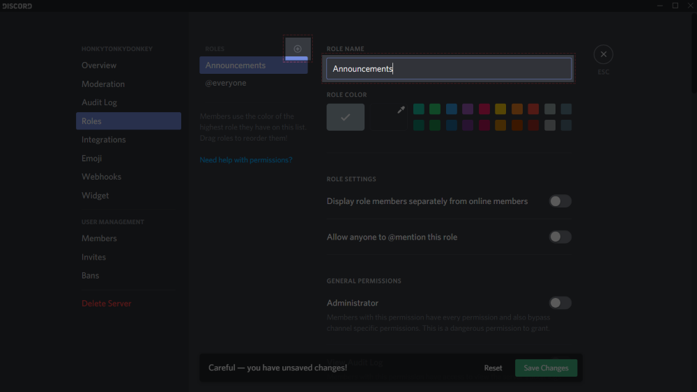 How do I set up an announcements channel? – Discord