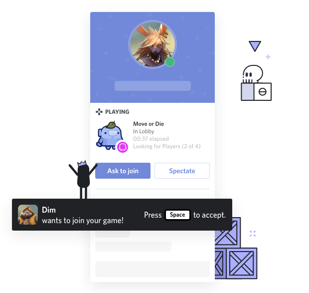 Game Invites and Detailed Status (Rich Presence) – Discord