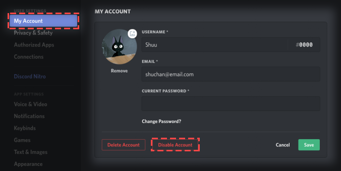 How Do I Disable My Account? – Discord