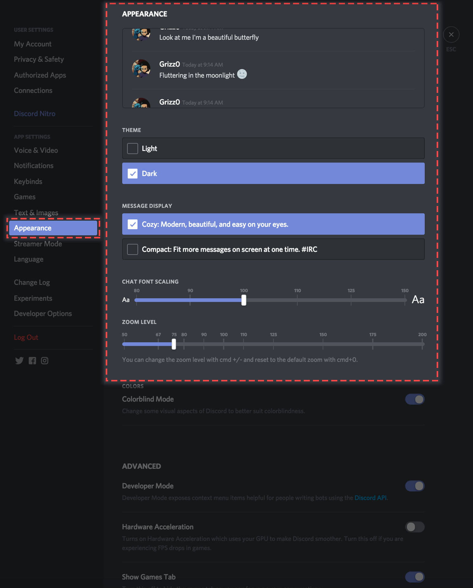 How can I change Discord's appearance/theme? – Discord