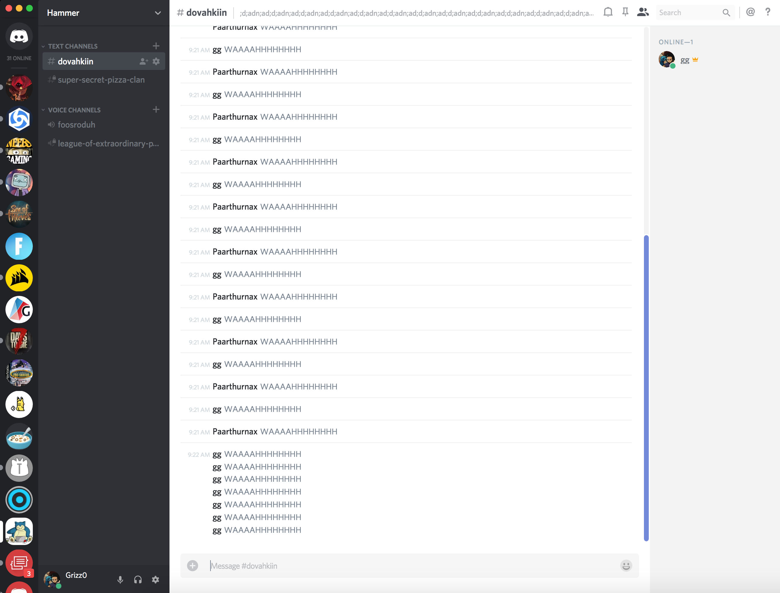 change text color on discord