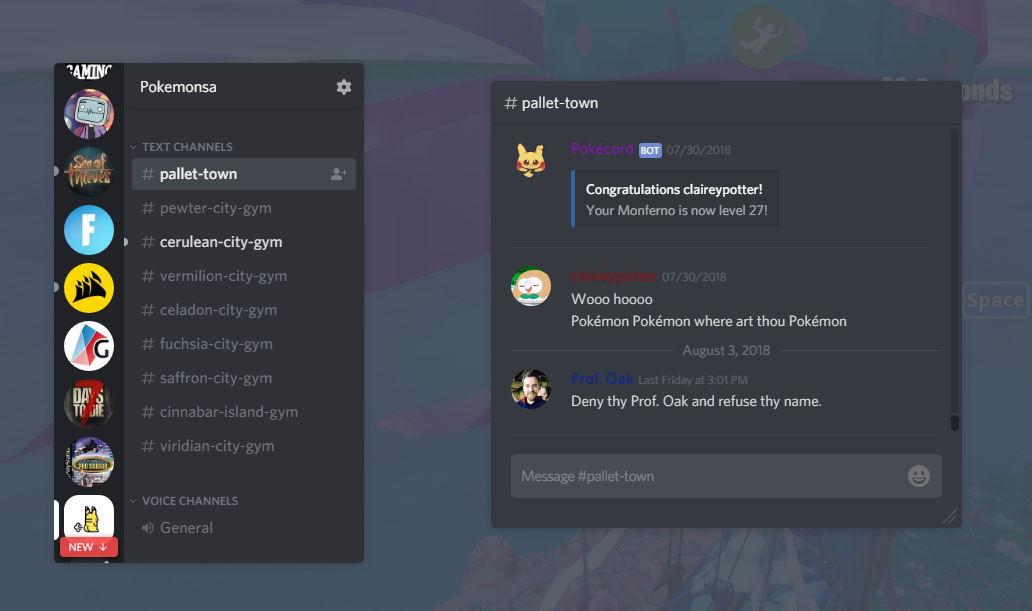 Games Overlay 101 – Discord