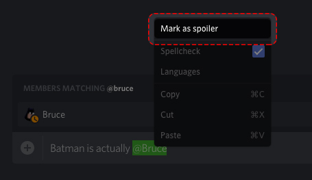 Spoiler Tags! – Discord