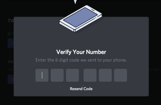 Setting Up Two Factor Authentication Discord