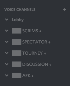 how to make an afk server in discord