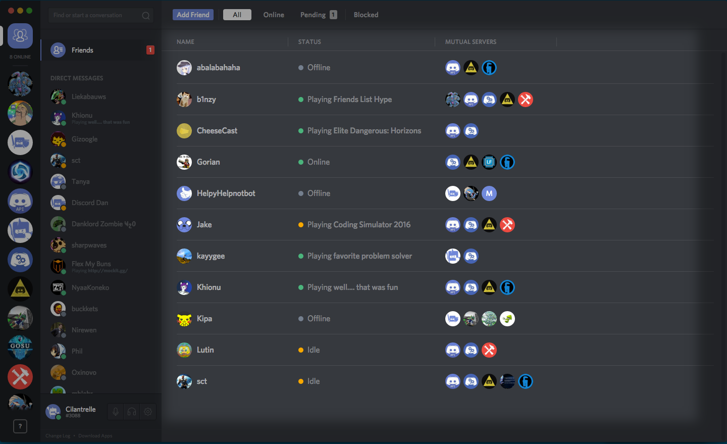 How do I add my friend to my friends list? – Discord