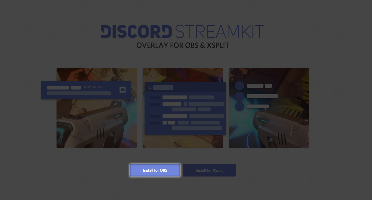 Using Discord's OBS Streamkit Overlay – Discord