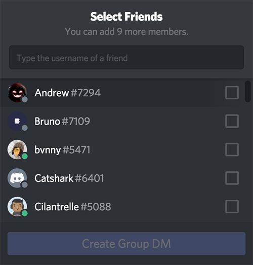 Group Chat and Calls – Discord