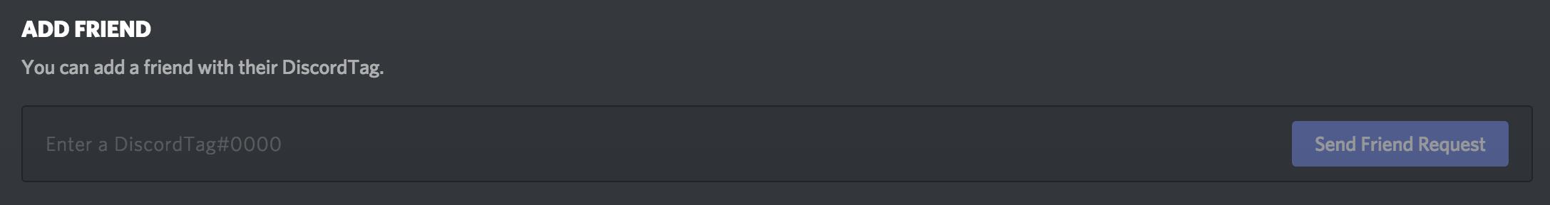 Friends List 101 – Discord