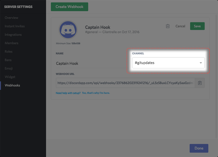 Intro to Webhooks – Discord