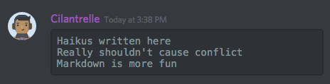 how to change text discord